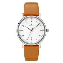 Dugena 4460785 Damenuhr Dessau Color Orange