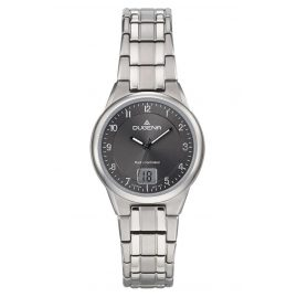Dugena 4460836 Radio-Controlled Ladies' Wristwatch Titanium Gent