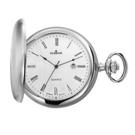 Dugena 4460304 Savonette Pocket Watch with Chain