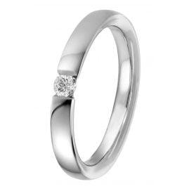 trendor 87950 Silber Damen-Ring mit Diamant