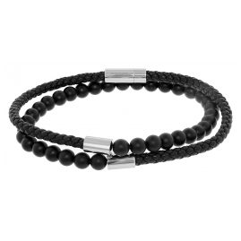 Boss 50424654 Bracelet for Men Brody Black
