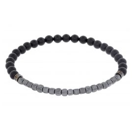 Boss 50434318-001 Elastic Men's Bracelet Achat and Haematite Barden