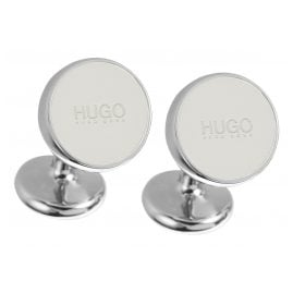 Hugo 50289289 E-Color Cufflinks Natural White