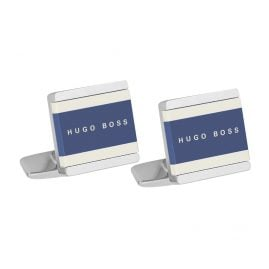 Boss 50385525-429 Cufflinks Fabian Blue/White