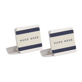 Boss 50385525-473 Cufflinks Fabian White/Dark Blue
