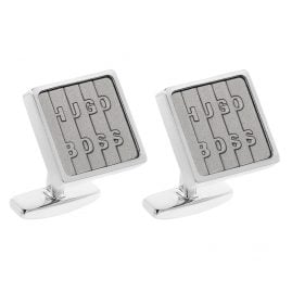 Boss 50403028-050 Cufflinks Layne Pastel Grey