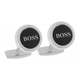 Boss 50412385 Manschettenknöpfe Smith Schwarz