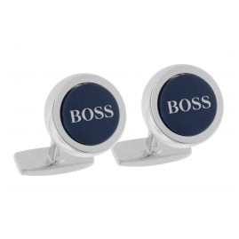 Boss 50412385 Cufflinks Smith Blue