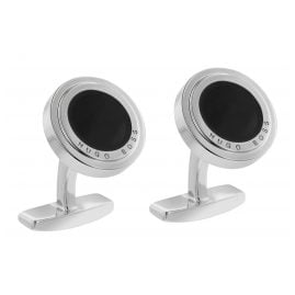 Boss 50424492 Cufflinks Eddie Black