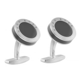 Boss 50424395 Cufflinks Michael Medium Grey