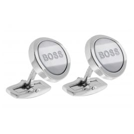 Boss 50434657-100 Cufflinks Mother of Pearl White T-Alexander