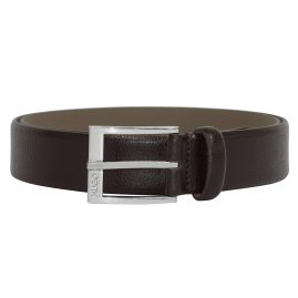 Hugo 50322558-202 Mens Belt C-Elloy Dark Brown