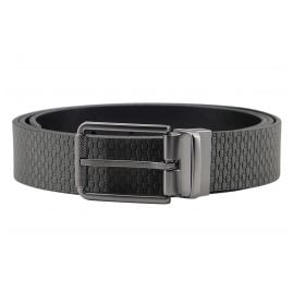 Boss 50425253 Men's Reversible Belt Tintin Dark Grey