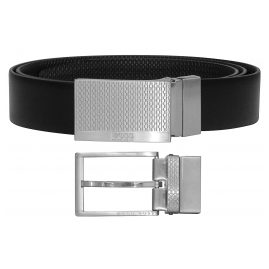 Boss 50424653-202 Men's Reversible Belt Giole Black/Dark Brown