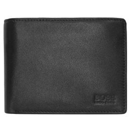 Boss 50250280-001 Arezzo Gents Wallet Black