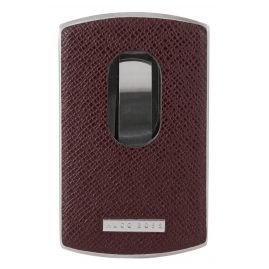 Boss 50311750 Signature Business Card Holder Claret-Red