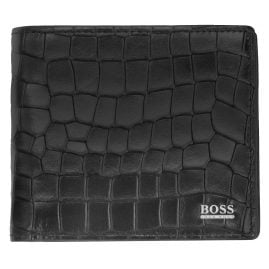 Boss 50423138 Men's Wallet Exotic Black