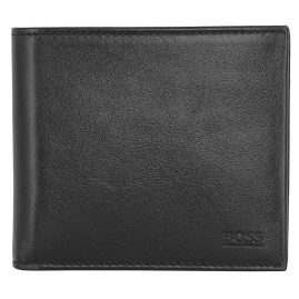 Boss 50446689-001 Men's Wallet Black Leather Truck
