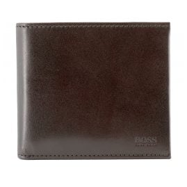 Boss 50461767-201 Men's Wallet Trucker Dark Brown