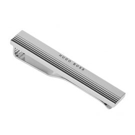 Boss 50434256-040 Tie Clip Tany Silver Tone