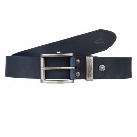 camel active 101-115-50 Men's Leather Belt Dark Blue