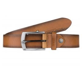 camel active 107-115-22 Men's Leather Belt Cognac Brown