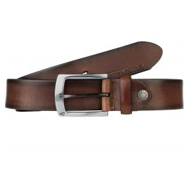 camel active 107-115-29 Leather Men's Belt Brown