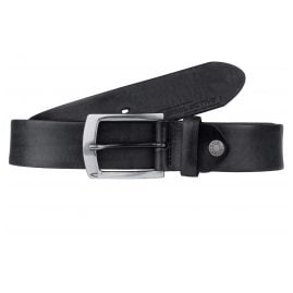 camel active 107-115-60 Men's Leather Belt Black