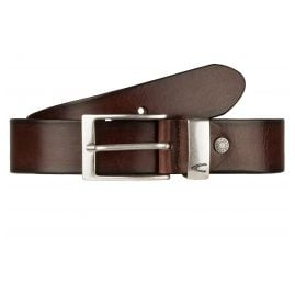 camel active 108-115-29 Men's Leather Belt Brown
