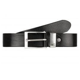 camel active 108-115-60 Leather Men's Belt Black