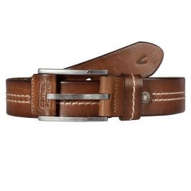 camel active 110-115-22 Men's Leather Belt Cognac Brown