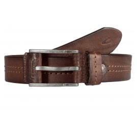 camel active 110-115-29 Leather Men's Belt Brown