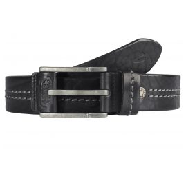 camel active 110-115-60 Men's Leather Belt Black