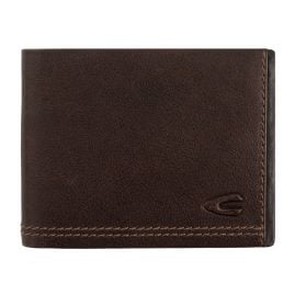 camel active 269-705-29 Brown Leather Wallet Landscape Format Osaka