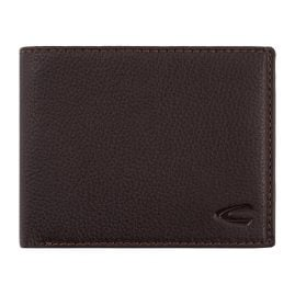 camel active 275-704-29 Men's Wallet Brown Leather Landscape Format Macau