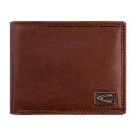 camel active 276-701-22 Wallet Cognac Brown Leather Jeans Format Japan