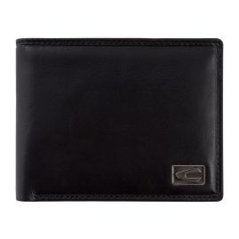 camel active 276-702-60 Wallet Black Leather with RFID Protection Japan