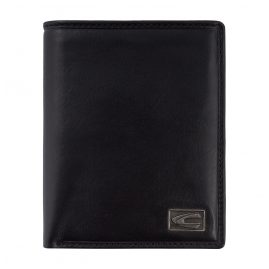 camel active 276-703-60 Wallet Black Leather with RFID Protection Japan