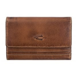 camel active 297-703-22 Ladies' Wallet Sullana Cognac Brown with RFID protection