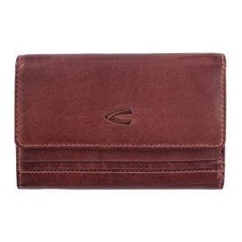 camel active 297-703-40 Women's Wallet Sullana Claret Leather with RFID protection
