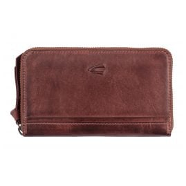 camel active 297-704-40 Ladies' Wallet With Zipper Sullana Wine Red RFID Protection