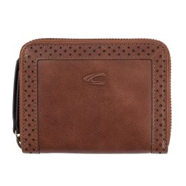 camel active 300-702-22 Ladies' Wallet Talara Brown Leather with RFID Protection