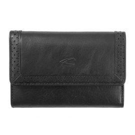 camel active 300-703-60 Wallet Talara Black Snap Lock with RFID Protection