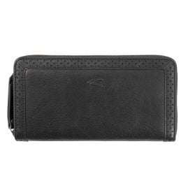 camel active 300-704-60 Ladies' Wallet Talara Black Long Format RFID Protection