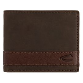 camel active 27470329 Men's Wallet Taipei Brown Leather