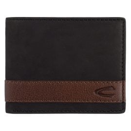 camel active 27470360 Men's Wallet Taipei Black Leather