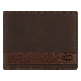 camel active 27470429 Men's Wallet Taipei Brown Leather