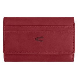 camel active 310704197 Ladies' Wallet with Zipper Medium Red Sara