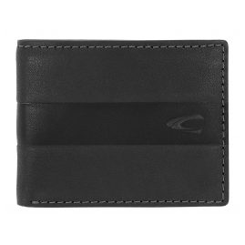 camel active 31570160 Men's Wallet Black Leather Mali