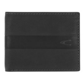 camel active 31570260 Men's Wallet Black Leather Mali
